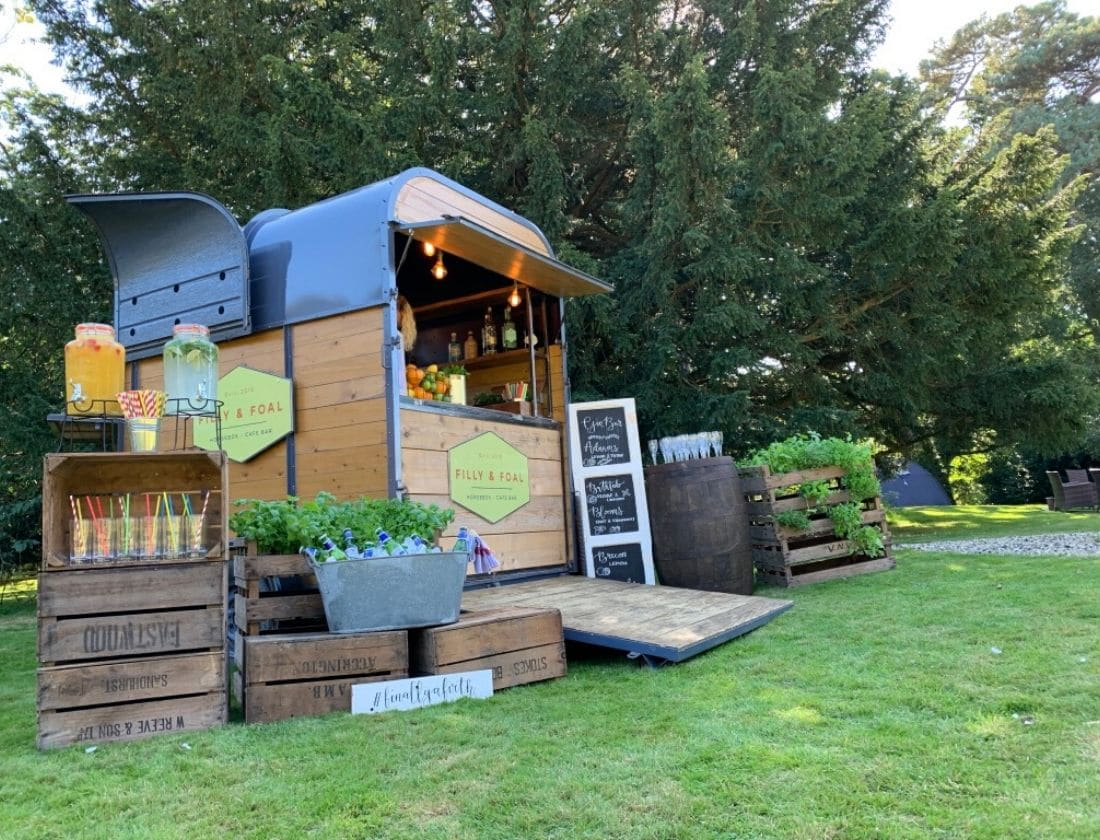 Mobile Bar Hire Norwich - Horse Box Bar Sandringham