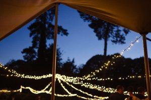 Mobile Bar Hire Norwich - Stretch Tent & Festoon Light Hire