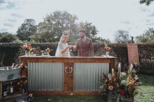 Mobile Bar Hire Norwich - Happy Bride Bar Hire
